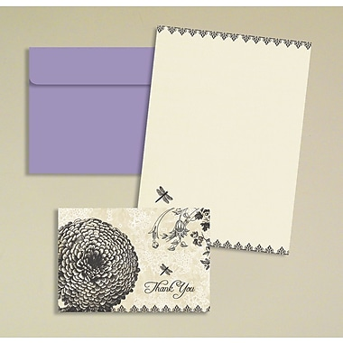 LANG® Avalanche 3 1/2in. x 5in. 12/Pack Belle Maison Thank You Petite Note Cards