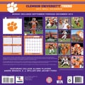 Turner Licensing® Clemson Tigers 2014 Team Wall Calendar, 12in. x 12in.