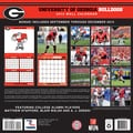 Turner Licensing® Georgia Bulldogs 2014 Team Wall Calendar, 12in. x 12in.