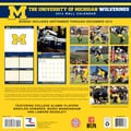 Turner Licensing® Michigan Wolverines 2014 Team Wall Calendar, 12in. x 12in.