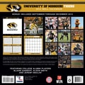 Turner Licensing® Missouri Tigers 2014 Team Wall Calendar, 12in. x 12in.