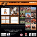 Turner Licensing® Oklahoma State Cowboys 2014 Team Wall Calendar, 12in. x 12in.