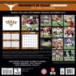 Turner Licensing® Texas Longhorns 2014 Team Wall Calendar, 12in. x 12in.