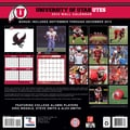 Turner Licensing® Utah Utes 2014 Team Wall Calendar, 12in. x 12in.