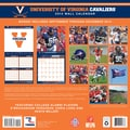 Turner Licensing® Virginia Cavaliers 2014 Team Wall Calendar, 12in. x 12in.