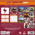 Turner Licensing® Virginia Hokies 2014 Team Wall Calendar, 12in. x 12in.