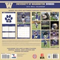 Turner Licensing® Washington Huskies 2014 Team Wall Calendar, 12in. x 12in.