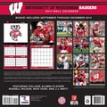 Turner Licensing® Wisconsin Badgers 2014 Team Wall Calendar, 12in. x 12in.