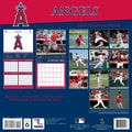 Turner Licensing® Angels 2014 Team Wall Calendar, 12in. x 12in.