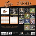 Turner Licensing® Baltimre Orioles 2014 Team Wall Calendar, 12in. x 12in.
