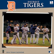 Turner Licensing® Detroit Tigers 2014 Team Wall Calendar, 12 x 12