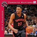 Turner Licensing® Toronto Raptors 2014 Team Wall Calendar, 12in. x 12in.
