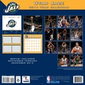 Turner Licensing® Utah Jazz 2014 Team Wall Calendar, 12in. x 12in.