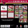 Turner Licensing® Arizona Cardinals 2014 Team Wall Calendar, 12in. x 12in.