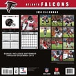 Turner Licensing® Atlanta Falcons 2014 Team Wall Calendar, 12in. x 12in.