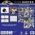 Turner Licensing® Baltimore Ravens 2014 Team Wall Calendar, 12in. x 12in.