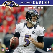 Turner Licensing® Baltimore Ravens 2014 Team Wall Calendar, 12 x 12