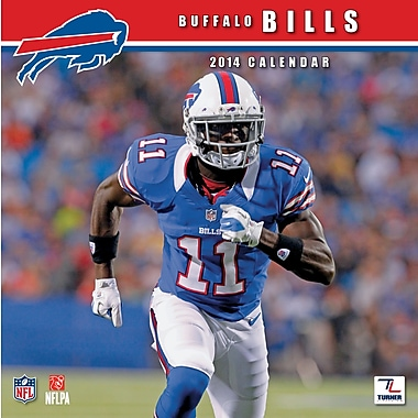 Turner Licensing® Buffalo Bills 2014 Team Wall Calendar, 12in. x 12in.