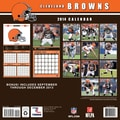 Turner Licensing® Cleveland Browns 2014 Team Wall Calendar, 12in. x 12in.