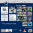 Turner Licensing® Dallas Cowboys 2014 Team Wall Calendar, 12in. x 12in.