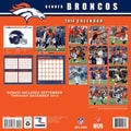 Turner Licensing® Denver Broncos 2014 Team Wall Calendar, 12in. x 12in.
