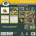 Turner Licensing® Green Bay Packers 2014 Team Wall Calendar, 12in. x 12in.