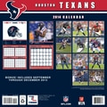 Turner Licensing® Houston Texans 2014 Team Wall Calendar, 12in. x 12in.