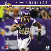 Turner Licensing® Minnesota Vikings 2014 Team Wall Calendar, 12 x 12