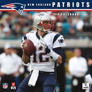 Turner Licensing® New England Patriots 2014 Team Wall Calendar, 12 x 12