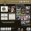 Turner Licensing® New Orleans Saints 2014 Team Wall Calendar, 12in. x 12in.