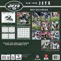 Turner Licensing® New York Jets 2014 Team Wall Calendar, 12in. x 12in.