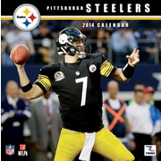 Turner Licensing® Pittsburgh Steelers 2014 Team Wall Calendar, 12 x 12