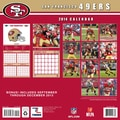 Turner Licensing® San Francisco 49Ers 2014 Team Wall Calendar, 12in. x 12in.