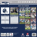 Turner Licensing® Seattle Seahawks 2014 Team Wall Calendar, 12in. x 12in.