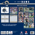 Turner Licensing® St Louis Rams 2014 Team Wall Calendar, 12in. x 12in.