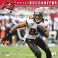 Turner Licensing® Tampa Bay Buccaneers 2014 Team Wall Calendar, 12in. x 12in.
