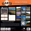 Turner Licensing® San Francisco Giants AT&T Park 2014 Wall Calendar, 12in. x 12in.