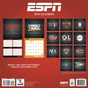 Turner Licensing® ESPN The Magazine 2014 Wall Calendar, 12 x 12