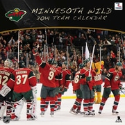 Turner Licensing® Minnesota Wild 2014 Team Wall Calendar, 12 x 12