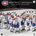 Turner Licensing® Montreal Canadiens 2014 Team Wall Calendar, 12in. x 12in.