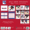 Turner Licensing® New York Rangers 2014 Team Wall Calendar, 12in. x 12in.
