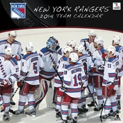 Turner Licensing® New York Rangers 2014 Team Wall Calendar, 12 x 12