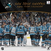 Turner Licensing® San Jose Sharks 2014 Team Wall Calendar, 12 x 12