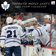 Turner Licensing® Toronto Maple Leafs 2014 Team Wall Calendar, 12 x 12
