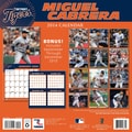 Turner Licensing® Detroit Tigers Miguel Cabrera 2014 Player Wall Calendar, 12in. x 12in.