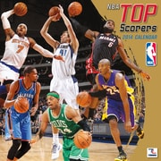 Turner Licensing® NBA Top Scorers 2014 Wall Calendar, 12 x 12