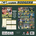 Turner Licensing® Green Bay Packers Aaron Rodger 2014 Player Wall Calendar, 12in. x 12in.