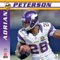 Turner Licensing® Minnesota Vikings Adrian Peter 2014 Player Wall Calendar, 12in. x 12in.