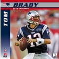 Turner Licensing® New England Patriots Tom Brady 2014 Player Wall Calendar, 12in. x 12in.