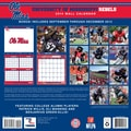 Turner Licensing® Mississippi Rebels 2014 Team Wall Calendar, 12in. x 12in.